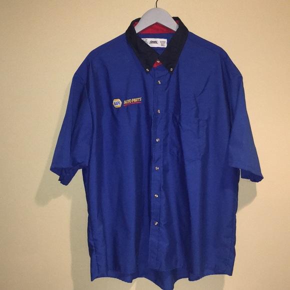 NEW Napa Auto Parts Embroidered Polo Shirt Short Sleeve With Pocket